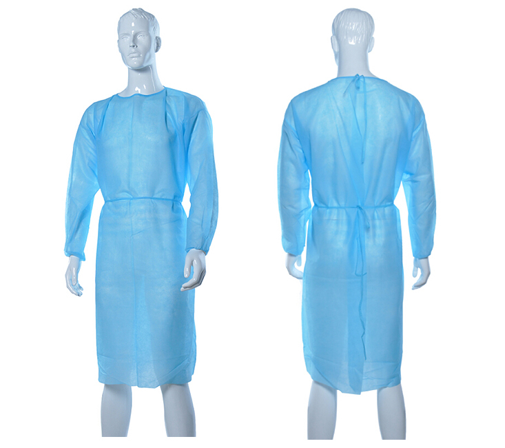 Disposable spp isolation gowns / hospital gowns