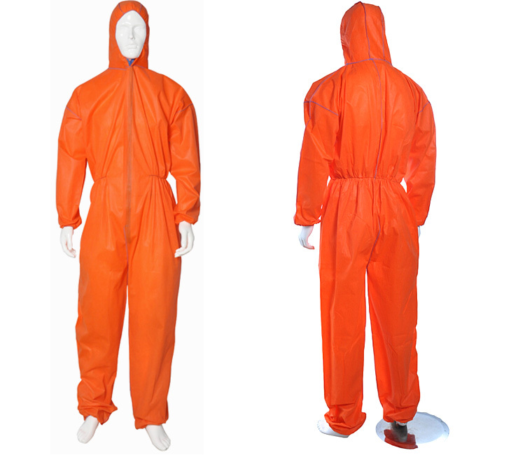 disposable microporous coveralls